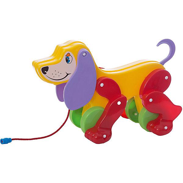 Купить Собака-каталка Полесье Боби , с сиреневыми ушами и красными лапами, Беларусь, фиолетовый, Унисекс