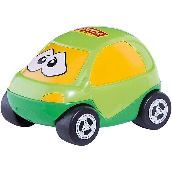 Автомобиль Полесье Жук, зеленыйМашинки<br>Характеристики:<br><br>• возраст: от 1 года;<br>• материал: пластик;<br>• вес упаковки: 133 гр.;<br>• размер упаковки: 13,5х10х8,5 см;<br>• страна бренда: Беларусь.<br><br>Автомобиль «Жук» от бренда «Полесье» имеет яркий дизайн, обтекаемую форму кузова и небольшие колеса, которые легко крутятся назад и вперед. На лобовом стекле машинки нарисованы глазки.<br><br>Легкая игрушка выполнена из прочного качественного пластика, не повреждается при падении, краски не выгорают со временем.<br><br>Автомобиль Полесье «Жук», зеленый можно купить в нашем интернет-магазине.<br>Ширина мм: 135; Глубина мм: 100; Высота мм: 85; Вес г: 133; Цвет: зеленый; Возраст от месяцев: 12; Возраст до месяцев: 3; Пол: Мужской; Возраст: Детский; SKU: 7906542;