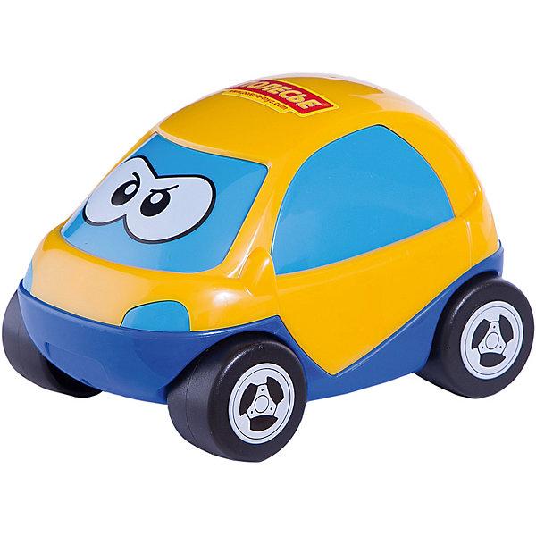 Автомобиль Полесье Жук, желтыйМашинки<br>Характеристики:<br><br>• возраст: от 1 года;<br>• материал: пластик;<br>• вес упаковки: 133 гр.;<br>• размер упаковки: 13,5х10х8,5 см;<br>• страна бренда: Беларусь.<br><br>Автомобиль «Жук» от бренда «Полесье» имеет яркий дизайн, обтекаемую форму кузова и небольшие колеса, которые легко крутятся назад и вперед. На лобовом стекле машинки нарисованы глазки.<br><br>Легкая игрушка выполнена из прочного качественного пластика, не повреждается при падении, краски не выгорают со временем.<br><br>Автомобиль Полесье «Жук», желтый можно купить в нашем интернет-магазине.<br>Ширина мм: 135; Глубина мм: 100; Высота мм: 85; Вес г: 133; Цвет: желтый; Возраст от месяцев: 12; Возраст до месяцев: 3; Пол: Мужской; Возраст: Детский; SKU: 7906570;