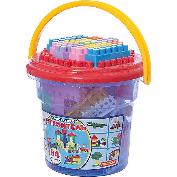 Конструктор Полесье Строитель, в синем ведре Макси с красной крышкой, 84 деталиПластмассовые конструкторы<br>Характеристики:<br><br>• возраст: от 3 лет;<br>• материал: пластмасса;<br>• в наборе: ведерка, крышка, 84 детали;<br>• вес упаковки: 888 гр.;<br>• размер упаковки: 25,8х24,1х25 см;<br>• страна бренда: Беларусь.<br><br>Конструктор «Строитель: Макси» от бренда «Полесье» научит малыша различать формы и цвета. Детали хранятся в прозрачном ведерке с ручкой и крышкой, на которой ребенок также сможет собирать конструктор.<br><br>Из конструктора можно собрать разный транспорт, постройки и предметы – ограничением является только фантазия ребенка. Сборка развивает мелкую моторику, воображение, внимательность.<br><br>Конструктор сделан из надежного безопасного пластика, отвечающего самому высокому качеству.<br><br>Конструктор Полесье «Строитель», в синем ведре «Макси» с красной крышкой, 84 детали можно купить в нашем интернет-магазине.<br>Ширина мм: 258; Глубина мм: 241; Высота мм: 250; Вес г: 888; Цвет: синий; Возраст от месяцев: 12; Возраст до месяцев: 3; Пол: Унисекс; Возраст: Детский; SKU: 7906572;