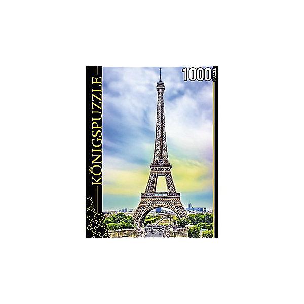 Пазл Konigspuzzle Сердце Парижа 1000 элементовПазлы классические<br>Характеристики товара:<br><br>• возраст: от 8 лет;<br>• количество деталей: 1000 шт;<br>• материал: картон;<br>• размер упаковки: 26х20х5 см;<br>• размер картины: 69х49 см;<br>• вес упаковки: 672 гр.;<br>• страна бренда: Германия.<br><br>Пазл Konigspuzzle Сердце Парижа – это отличный способ увлекательно провести досуг, снять стресс и развить моторику.<br>Каждая деталь имеет индивидуальную форму и легко соединяется с другой, поэтому у Вас обязательно получится ожидаемый результат.<br><br>Пазл Konigspuzzle Сердце Парижа можно купить в нашем интернет-магазине.<br>Ширина мм: 415; Глубина мм: 275; Высота мм: 280; Вес г: 7000; Возраст от месяцев: 36; Возраст до месяцев: 2147483647; Пол: Унисекс; Возраст: Детский; SKU: 7910363;