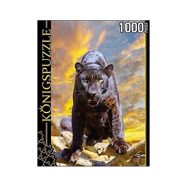 Купить Пазл Konigspuzzle Пантера 1000 элементов, Россия, Унисекс