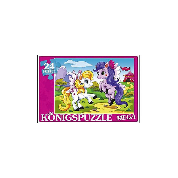 Мега-пазл Konigspuzzle Пони на прогулке 24 элементаПазлы для малышей<br>Характеристики товара:<br><br>• возраст: от 3 лет;<br>• количество деталей: 24 шт;<br>• материал: картон;<br>• размер упаковки: 28х19х4 см;<br>• размер картины: 48х32 см;<br>• вес упаковки: 300 гр.;<br>• страна бренда: Германия.<br><br>Мега-пазл Konigspuzzle Пони на прогулке – это отличный способ увлекательно провести досуг, снять стресс и развить моторику.<br>Каждая деталь имеет индивидуальную форму и легко соединяется с другой, поэтому у Вас обязательно получится ожидаемый результат.<br><br>Мега-пазл Konigspuzzle Пони на прогулке можно купить в нашем интернет-магазине.<br>Ширина мм: 525; Глубина мм: 300; Высота мм: 205; Вес г: 4900; Возраст от месяцев: 36; Возраст до месяцев: 2147483647; Пол: Унисекс; Возраст: Детский; SKU: 7910509;