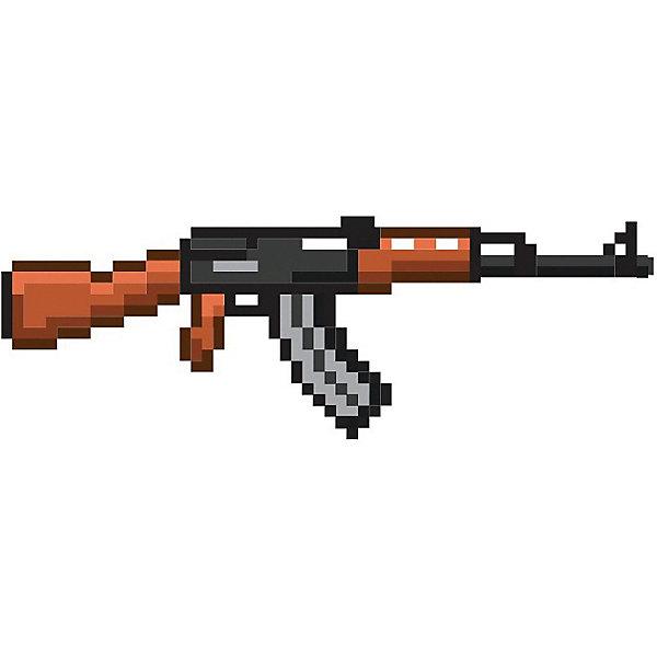 Автомат АК-47 8Бит Pixel Crew пиксельный 85смИгрушечные пистолеты и бластеры<br>Характеристики товара:<br><br>• возраст: от 3 лет<br>• размер: 85 см<br>• материал: мягкий полимер HDPE, пластик<br>• игрушечное оружие<br><br>Пиксельный автомат АК – это классический вариант для боев против недругов на игровых просторах. Теперь он может быть вашим спутником и в реальной жизни. Игра в войнушку с друзьями станет в разы веселей и займет вашего ребенка на долгие часы!<br><br>Автомат АК-47 8Бит Pixel Crew пиксельный 85см можно купить в нашем интернет-магазине.<br>Ширина мм: 850; Глубина мм: 25; Высота мм: 200; Вес г: 500; Возраст от месяцев: 72; Возраст до месяцев: 2147483647; Пол: Мужской; Возраст: Детский; SKU: 7911584;