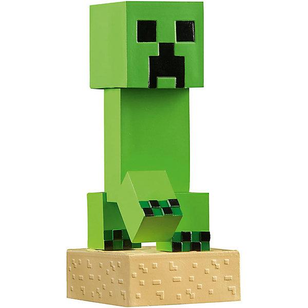 Фигурка Minecraft Adventure Creeper 10смКоллекционные фигурки<br>Характеристики товара:<br><br>• возраст: от 3 лет<br>• размер: 10 см<br>• материал: пластик<br>• герой из видеоигры Minecraft<br>• размер упаковки: 12х6х6 см<br><br>Создание Крипер (Creeper) из пластика высотой 10 см. Несмотря на миниатюрность, фигурка тщательно детализирована, Крипер может подстерегать где угодно и всегда готов напасть. В комплект входит один блок TNT. <br><br>Как и все фигурки серии, Крипер выполнен по лицензии и потому имеет максимальную схожесть с оригинальным персонажем, а также подходит для дополнения коллекции других фигурок серии.<br><br>Фигурку Minecraft Adventure Creeper 10см можно купить в нашем интернет-магазине.<br>Ширина мм: 120; Глубина мм: 50; Высота мм: 150; Вес г: 150; Возраст от месяцев: 72; Возраст до месяцев: 2147483647; Пол: Мужской; Возраст: Детский; SKU: 7911592;