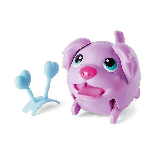 Коллекционная фигурка Spin Master Chubby Puppies, сиреневый щенокКоллекционные фигурки<br>Характеристики:<br><br>• вес: 250г.;<br>• тип батарейки: 1 х ААА / LR 0.3 1.5 V (мизинчиковые);<br>• размер упаковки: 8х11х15см.;<br>• материал: пластик.;<br>• в комплекте: 2 фигурки;<br>• размер большой фигурки: 15 см;<br>• для детей в возрасте: от 3лет.;<br>• страна производитель: Китай.<br><br>Коллекционная фигурка жёлто-розовой собачки « Chubby Puppies (Чабби Папис)» от бренда « Spin Master (Спин Мастер)» бренда станет отличным приобретением для маленьких мальчишек и девчонок. Она создана из высококачественных, экологически чистых материалов, что очень важно для детских товаров.<br><br>Такая подвижная игрушка не оставит равнодушным ни одного ребёнка. Она приводится в движение с помощью батарейки и умеет самостоятельно ходить, смешно переваливаясь с ноги на ногу. В комплекте с ней находится такой же щеночек, только меньшего размера.<br><br>Играя дети получают позитивные эмоции, а при желании могут собрать целую коллекцию подобных игрушек. <br>                                    <br>Коллекционную фигурку сиреневой собачки « Chubby Puppies (Чабби Папис)» можно купить в нашем интернет-магазине.<br>Ширина мм: 80; Глубина мм: 110; Высота мм: 150; Вес г: 250; Цвет: фиолетовый; Возраст от месяцев: 36; Возраст до месяцев: 2147483647; Пол: Унисекс; Возраст: Детский; SKU: 7911600;