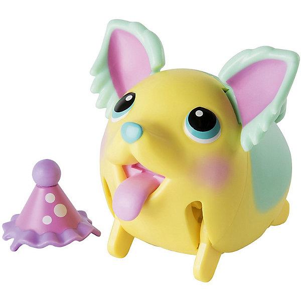 Коллекционная фигурка Spin Master Chubby Puppies, желто-зеленая собачкаКоллекционные фигурки<br>Характеристики:<br><br>• вес: 250г.;<br>• тип батарейки: 1 х ААА / LR 0.3 1.5 V (мизинчиковые);<br>• размер упаковки: 8х11х15см.;<br>• материал: пластик.;<br>• в комплекте: 2 фигурки;<br>• размер большой фигурки: 15 см;<br>• для детей в возрасте: от 3лет.;<br>• страна производитель: Китай.<br><br>Коллекционная фигурка жёлто-розовой собачки « Chubby Puppies (Чабби Папис)» от бренда « Spin Master (Спин Мастер)» бренда станет отличным приобретением для маленьких мальчишек и девчонок. Она создана из высококачественных, экологически чистых материалов, что очень важно для детских товаров.<br><br>Такая подвижная игрушка не оставит равнодушным ни одного ребёнка. Она приводится в движение с помощью батарейки и умеет самостоятельно ходить, смешно переваливаясь с ноги на ногу. В комплекте с ней находится такой же щеночек, только меньшего размера.<br><br>Играя дети получают позитивные эмоции, а при желании могут собрать целую коллекцию подобных игрушек. <br>                                    <br>Коллекционную фигурку желто-зеленой собачки « Chubby Puppies (Чабби Папис)» можно купить в нашем интернет-магазине.<br>Ширина мм: 80; Глубина мм: 110; Высота мм: 150; Вес г: 250; Цвет: gelb/gr?n; Возраст от месяцев: 36; Возраст до месяцев: 2147483647; Пол: Унисекс; Возраст: Детский; SKU: 7911602;