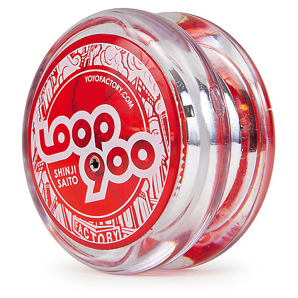 Йо-йо YoYoFactory Loop 900Антистресс игрушки для рук<br>Характеристики:<br><br>• возраст: от 8 лет;<br>• материал: пластик;<br>• стиль игры: А, 2А;<br>• форма: модифицированная;<br>• в наборе: йо-йо, веревка, инструкция, шестигранный ключ YoYoFactory для регулировки гэпа;<br>• тормоза: Starburst;<br>• ширина: 34,5 мм;<br>• диаметр: 58,4 мм;<br>• гэп: 1,71-2,71 мм;<br>• вес игрушки: 52,7 гр.;<br>• вес упаковки: 90 гр.;<br>• размер упаковки: 4х12х18,3 см;<br>• страна бренда: США.<br><br>Йо-йо YoYoFactory Loop 900 выполнен из качественного полупрозрачного пластика, имеет яркий дизайн и выдерживает случайные удары без повреждений.<br><br>Игрушка предназначена для выполнения трюков с долгой задержкой йо-йо вне руки (лупинг), имеет специальную для этого форму. Подходит более профессиональным игрокам. Настроить уровень сложности можно с помощью регулируемого гэпа (расстояния между половинками игрушки). Поможет в этом специальный ключ, который вставляется в маленькое отверстие на игрушке. Loop 900 оснащен металлическим подшипником YYF SPEC Bearing Size B.<br><br>Йо-йо YoYoFactory Loop 900 можно купить в нашем интернет-магазине.<br>Ширина мм: 40; Глубина мм: 120; Высота мм: 183; Вес г: 90; Возраст от месяцев: 96; Возраст до месяцев: 2147483647; Пол: Унисекс; Возраст: Детский; SKU: 7911620;