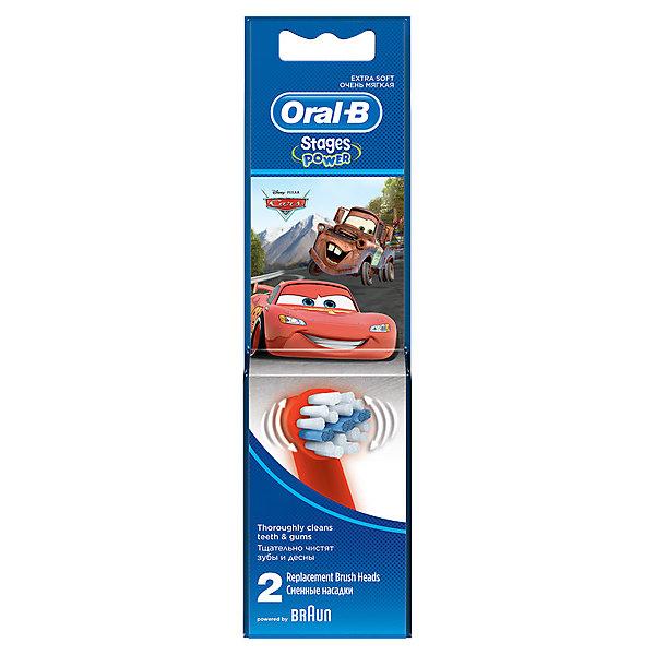 Насадки для электрической зубной щетки Oral-B Kids Stages Power 2 штЗубные щетки<br>Характеристики:<br><br>• цвет: зеленый;<br>• сменные насадки для электрических зубных щеток;<br>• подходят для всех электрических щеток Oral-B (кроме звуковых);<br>• оформление: персонажи Дисней;<br>• выступающий средний ряд щетинок создан специально для очищения жевательных поверхностей;<br>• бережная чистка зубов;<br>• мягкость щетины;<br>• укороченные щетинки;<br>• круглая форма насадки;<br>• в комплекте 2 шт.;<br>• для детей от 3 лет. <br><br>Сменные насадки с экстрамягкими щетинками разработаны специально для детских электрических зубных щеток. Круглая форма насадки, укороченные экстрамягкие щетинки позволяют бережно очистить полость рта, не травмируя десны. Сменные насадки оформлены в стиле «Disney». <br><br>Насадки для электрической зубной щетки Oral-B Kids Stages Power  2шт можно купить в нашем интернет-магазине.<br>Ширина мм: 60; Глубина мм: 18; Высота мм: 220; Вес г: 26; Цвет: зеленый; Возраст от месяцев: 36; Возраст до месяцев: 72; Пол: Унисекс; Возраст: Детский; SKU: 7911670;