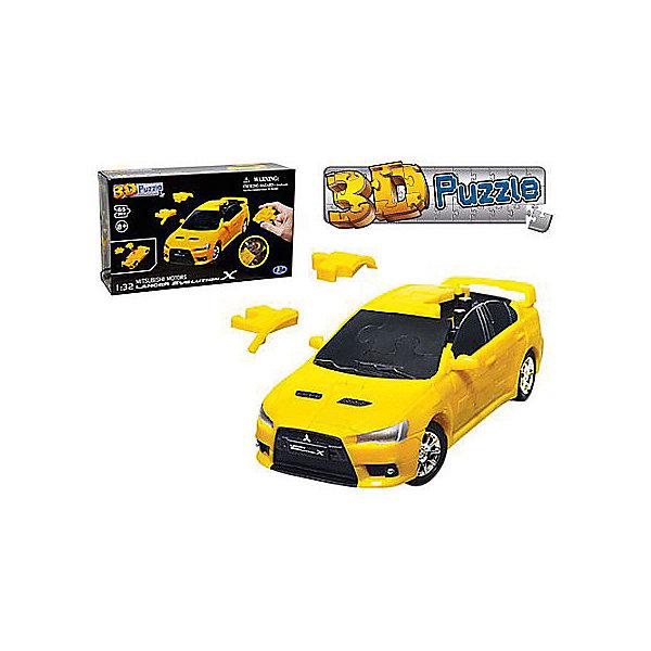 3D пазл Happy Well Мицубиси Лансер ЭВО Х, желтый3D пазлы<br>Характеристики товара:<br><br>• возраст: от 8 лет;<br>• материал: пластик;<br>• количество деталей: 65 шт; <br>• масштаб: 1:32;<br>• цвет: желтый, матовый;<br>• размер упаковки: 22х13х6 см;<br>• вес упаковки: 278 гр.;<br>• страна бренда: Гонконг.<br><br>3D пазл Happy Well Мицубиси Лансер ЭВО Х- это уникальное сочетание конструктора и классического пазла. Он полезен для развития логических, аналитических способностей, пространственного мышления. <br>После сборки миниатюрной копии настоящего автомобиля, его можно использовать как игрушку, так как колеса вращаются и автомобиль быстро движется.<br><br>3D пазл Happy Well Мицубиси Лансер ЭВО Х можно купить в нашем интернет-магазине.<br>Ширина мм: 220; Глубина мм: 60; Высота мм: 130; Вес г: 192; Возраст от месяцев: 96; Возраст до месяцев: 2147483647; Пол: Унисекс; Возраст: Детский; SKU: 7911755;