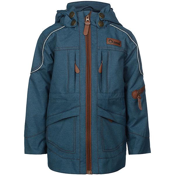 Куртка Сноу OLDOS для мальчикаВерхняя одежда<br>Характеристики товара:<br><br>• цвет: синий;<br>• внешняя ткань: 100% полиэстер, пропитки PU+WR; <br>• подкладка: принтованная бязь (65% п/э, 35% х/б);<br>• сезон: демисезон;<br>• температурный режим: от +10 до +20;<br>• застежка: на молнии, на кнопках, на липучках;<br>• не съемный капюшон, с утяжкой на шнурке;<br>• внутренняя ветрозащитная планка с защитой подбородка от прищемления;<br>• регулируемая талия;<br>• манжеты на кнопках;<br>• врезные карманы на молнии;<br>• нашивка-потеряшка;<br>• светоотражающие элементы;<br>• страна бренда: Россия.<br><br>Модная и стильная ветровка «Сноу» для мальчика от OLDOS - прекрасное дополнение к любому гардеробу! Идеальна для ношения в прохладные весенние деньки. Выполнена в ярком синем цвете с принтовыми нашивками и контрастной молнией, хорошо сидит по фигуре и сочетается с различной одеждой и обувью.<br><br>Внешняя ткань с водо-грязеотталкивающей пропиткой защищает от ветра и дождя. По талии есть внутренняя регулировка. В этой модели 5 врезных карманов на молнии. Контрастная подкладка из бязи приятна на ощупь, что придаёт дополнительный комфорт. Снабжена светоотражающими элементами. <br><br>Куртку-ветровку для мальчика «Сноу» от бренда OLDOS (Олдос) можно купить в нашем интернет-магазине.<br>Ширина мм: 356; Глубина мм: 10; Высота мм: 245; Вес г: 519; Цвет: джинсовый; Возраст от месяцев: 24; Возраст до месяцев: 36; Пол: Мужской; Возраст: Детский; Размер: 98,158,152,146,140,134,128,122,116,110,104; SKU: 7913221;