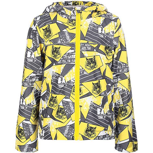 Куртка Веня JICCO BY OLDOS для мальчикаВерхняя одежда<br>Характеристики товара:<br><br>• цвет: желтый;<br>• внешняя ткань: 100% полиэстер, покрытие TEFLON; <br>• подкладка: флис, 100% полиэстер;<br>• сезон: демисезон;<br>• температурный режим: от +10 до +20;<br>• застежка: на молнии;<br>• съемный капюшон, внутренняя резинка по краям для лучшего прилегания<br>• внутренняя ветрозащитная планка с защитой подбородка от прищемления;<br>• резинка сзади по талии <br>• манжеты прымые;<br>• 2 боковых кармана;<br>• нашивка-потеряшка;<br>• светоотражающие элементы;<br>• страна бренда: Россия.<br><br>Легкая куртка-ветровка «Веня» для мальчика от Росийсского производителя JICCO BY OLDOS- отличный вариант для активных прогулок в прохладное время года.  Оригинальный принт и  яркая комбинации цветов обязательно понравится вашему ребенку и не останется не замечанной. Стильная куртка хорошо сидит по фигуре и сочетается с различной одеждой и обувью.<br><br>Внешняя ткань с водо-грязеотталкивающей пропиткой защищает от ветра и дождя. Подкладка флис, в рукавах - ворсовое полотно гладкой стороной к телу. Капюшон с внутренней резинкой по краям для лучшего прилегания; в манжеты прямые; есть карманы и регулируемая утяжка по низу куртки. Снабжена светоотражающими элементами. <br><br>Куртку-ветровку для мальчика «Веня» от бренда JICCO BY OLDOS (Жико бай Олдос) можно купить в нашем интернет-магазине.<br>Ширина мм: 356; Глубина мм: 10; Высота мм: 245; Вес г: 519; Цвет: желтый; Возраст от месяцев: 60; Возраст до месяцев: 72; Пол: Мужской; Возраст: Детский; Размер: 116,92,98,104,110; SKU: 7913256;