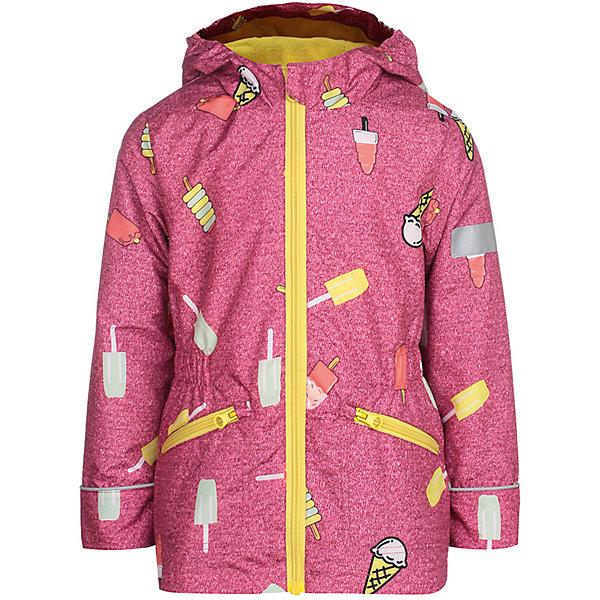 Куртка Леди JICCO BY OLDOS для девочкиВерхняя одежда<br>Характеристики товара:<br><br>• цвет: розовый;<br>• внешняя ткань: 100% полиэстер, покрытие TEFLON; <br>• подкладка: флис, 100% полиэстер;<br>• сезон: демисезон;<br>• температурный режим: от +10 до +20;<br>• застежка: на молнии;<br>• съемный капюшон, внутренняя резинка по краям для лучшего прилегания<br>• внутренняя ветрозащитная планка с защитой подбородка от прищемления;<br>• резинка сзади по талии <br>• манжеты прымые;<br>• 2 боковых кармана;<br>• нашивка-потеряшка;<br>• светоотражающие элементы;<br>• страна бренда: Россия.<br><br>Легкая куртка-ветровка «Леди» для девочки  от Росийсского производителя JICCO BY OLDOS- отличный вариант для активных прогулок.  Оригинальный принт, яркая комбинации цветов, контрастная молния - обязательно понравятся вашей юной моднице и она не останется  незамечанной окружающими. Стильная куртка хорошо сидит по фигуре и сочетается с различной одеждой и обувью.<br><br>Внешняя ткань с водо-грязеотталкивающей пропиткой защищает от ветра и дождя. Подкладка флис, в рукавах - ворсовое полотно гладкой стороной к телу. Капюшон с внутренней резинкой по краям для лучшего прилегания; в манжеты прямые; есть карманы и регулируемая утяжка по низу куртки. Снабжена светоотражающими элементами. <br><br>Куртку-ветровку для девочки «Леди» от бренда JICCO BY OLDOS (Жико бай Олдос) можно купить в нашем интернет-магазине.<br>Ширина мм: 356; Глубина мм: 10; Высота мм: 245; Вес г: 519; Цвет: розовый; Возраст от месяцев: 84; Возраст до месяцев: 96; Пол: Женский; Возраст: Детский; Размер: 128,92,98,104,110,116,122; SKU: 7913323;