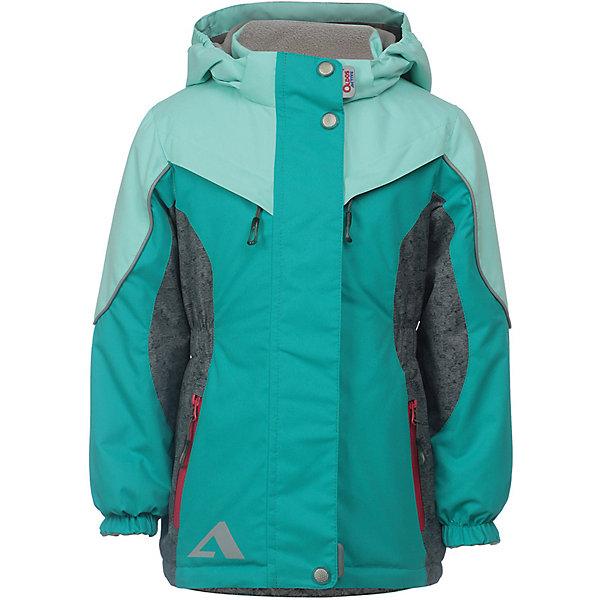 Куртка Одри OLDOS ACTIVE для девочкиВерхняя одежда<br>Характеристики товара:<br><br>• цвет: зеленый;<br>• внешняя ткань: 100% полиэстер, покрытие TEFLON, мембрана; <br>• подкладка: флис, 100% полиэстер;<br>• сезон: демисезон;<br>• температурный режим: от +10 до +20;<br>• водонепроницаемость: 3000 мм ;<br>• паропроницаемость: 3000 г/м2/24ч;<br>• застежка: на молнии;<br>• двойная ветрозащитная планка по всей длине молнии с защитой подбородка<br>• съемный капюшон, внутренняя резинка по краям для лучшего прилегания<br>• воротник-стойка с мягкой флисовой подкладкой<br>• резинка сзади по талии <br>• манжеты на резинке регулируемые липучкой<br>• 2 накладных кармана на кнопках снизу и на 2 кармана молнии вверху, внутренний карман на липучке<br>• нашивка-потеряшка<br>• светоотражающие элементы<br>• страна бренда: Россия.<br><br>Утепленная куртка-парка «Одри» для девочки из мембранной коллекции Росийсского производителя OLDOS ACTIVE - отличный вариант для активных прогулок в межсезонье.  Выполнена в красивой комбинации зеленого цвета,  хорошо сидит по фигуре и сочетается с различной одеждой и обувью.<br><br>Верхняя ткань с мембраной 3000/3000 обеспечивает водонепроницаемость, при этом ветровка дышит. Покрытие TEFLON повышает износостойкость, а так же облегчает уход за ветровкой. Подкладка - флис, в области груди и спины, плотный полиэстер в рукавах. <br><br>Такая ветровка прекрасно защитит от непогоды благодаря продуманному функционалу: капюшону с внутренней резинкой по краям для лучшего прилегания, ветрозащитной планке по всей длине молнии с защитой подбородка, манжетам на резинке с клином, который регулируется липучкой и внешней регулировке по талии. Ветровка оснащена карманами на молнии и светоотражающими элементами. Внутри куртки есть потайной карман, который застегивается на липучку и нашивка-потеряшка. <br><br>Утепленную куртку-парку «Одри» для девочки от бренда OLDOS ACTIVE (Олдос Актив) можно купить в нашем интернет-магазине.<br>Ширина мм: 356; Глубина мм: 10; Высота 