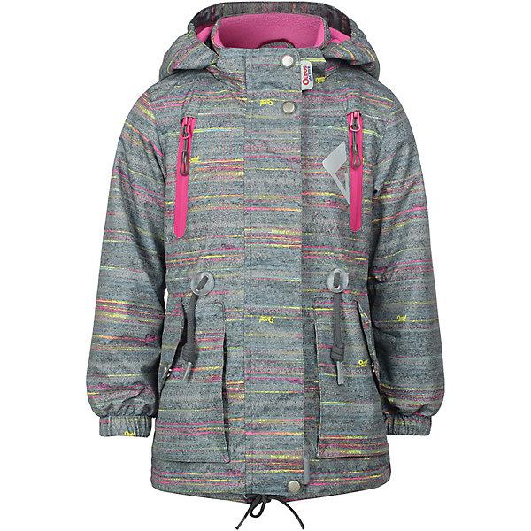 Куртка Ария OLDOS ACTIVE для девочкиВерхняя одежда<br>Характеристики товара:<br><br>• цвет: серый;<br>• внешняя ткань: 100% полиэстер, покрытие TEFLON; <br>• подкладка: флис, 100% полиэстер;<br>• водонепроницаемость: 3000 мм;<br>• паропроницаемость: 3000 г/м2/24ч;<br>• сезон: демисезон;<br>• температурный режим: от +10 до +20;<br>• застежка: на молнии;<br>• съемный капюшон, внутренняя резинка по краям для лучшего прилегания<br>• внутренняя ветрозащитная планка с защитой подбородка от прищемления;<br>• резинка сзади по талии <br>• манжеты на резинке;<br>• 2 боковых кармана;<br>• нашивка-потеряшка;<br>• светоотражающие элементы;<br>• страна бренда: Россия.<br><br>Куртка «Ария» для девочки - функциональная, практичная куртка из мембранной коллекции OLDOS ACTIVE. Отличный вариант для активных прогулок в прохладное время года.  Выполнена в универсальной комбинации цветов с яркой флисовой подкладкой, хорошо сидит по фигуре и сочетается с различной одеждой и обувью.<br><br>Верхняя ткань с мембраной обеспечивает водонепроницаемость, при этом одежда дышит. Покрытие TEFLON повышает износостойкость, а так же облегчает уход. Эта стильная куртка прекрасно защитит от непогоды благодаря продуманному функционалу: капюшону, который отстегивается при необходимости, манжетам на резинке, регулируемой утяжке по низу. Флисовая подстежка отстегивается и ее можно носить как самостоятельную флисовую кофту: она изготовлена из флиса с двумя карманами и воротником-стойкой. Так же куртка оснащена карманами на молнии, светоотражающими элементами. Внутри есть нашивка-потеряшка.<br><br>Демисезонную куртку «Ария» для девочки от бренда OLDOS ACTIVE (Олдос Актив) можно купить в нашем интернет-магазине.<br>Ширина мм: 356; Глубина мм: 10; Высота мм: 245; Вес г: 519; Цвет: серый; Возраст от месяцев: 36; Возраст до месяцев: 48; Пол: Женский; Возраст: Детский; Размер: 104,152,146,140,122,116,110; SKU: 7913643;