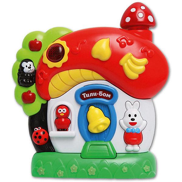 Купить Музыкальная игрушка Азбукварик Грибок-теремок , Китай, красный, Унисекс
