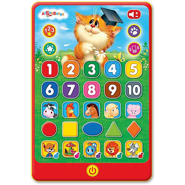 Планшетик Азбукварик Веселые знанияДетские гаджеты<br>Характеристики:<br><br>• тип игрушки: планшетик;<br>• возраст: от 2 лет;<br>• материал: пластик, металл;<br>• тип батареек: 3 х AAA / LR0.3 1.5V;<br>• наличие батареек: не входят в комплект;<br>• цвет:  красный; <br>• вес: 241 гр;<br>• размер: 22х15х28,5 см;<br>• страна бренда: Россия;<br>• бренд: Азбукварик.<br><br>Планшетик Азбукварик «Веселые знания» - это замечательный игровой планшетик, благодаря которому ребятишки будут проводить время не только весело, но и с пользой, ведь он поможет своему маленькому обладателю узнать много нового. Ребенку предстоит отгадывать загадки, отвечать на различные вопросы, а также он сможет познакомиться с забавными зверушками, цветами, числами и формами.<br>Играя с таким планшетиком, мальчики и девочки забудут, что такое скука, а также смогут расширить свой кругозор и тренировать множество полезных навыков.<br><br>Планшетик Азбукварик «Веселые знания» можно купить в нашем интернет-магазине.<br>Ширина мм: 220; Глубина мм: 150; Высота мм: 285; Вес г: 241; Цвет: красный; Возраст от месяцев: 24; Возраст до месяцев: 48; Пол: Унисекс; Возраст: Детский; SKU: 7920347;