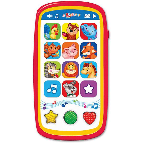 Мультиплеер Азбукварик Мои первые зверята с огонькамиДетские гаджеты<br>Характеристики:<br><br>• тип игрушки: плеер;<br>• возраст: от 2 лет;<br>• материал: пластик;<br>• тип батареек: ААА;<br>• наличие батареек: в комплект не входят;<br>• цвет:  красный; <br>• вес: 140 гр;<br>• размер: 13,2х17х22,5 см;<br>• бренд: Азбукварик.<br><br>Мультиплеер Азбукварик «Мои первые зверята» с огоньками отлично подойдёт для знакомства с животными: при нажатии на кнопочки с изображениями зверюшек можно послушать песенки о них и узнать, кто как говорит. Закрепить знания помогут весёлые загадки и увлекательная игра «Найди зверят»! А ещё можно устроить дискотеку, слушая любимые песенки и мелодии («Танец утят», «Собачий вальс», «Песенка о лете», «Облака», «Валенки», «Песенка друзей» и другие) и любуясь мигающими огоньками.<br><br>Мультиплеер Азбукварик «Мои первые зверята» с огоньками можно купить в нашем интернет-магазине.<br>Ширина мм: 132; Глубина мм: 170; Высота мм: 225; Вес г: 140; Цвет: красный; Возраст от месяцев: 24; Возраст до месяцев: 48; Пол: Унисекс; Возраст: Детский; SKU: 7920349;