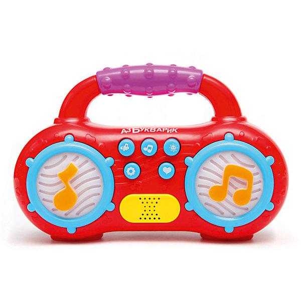 Магнитофончик Азбукварик Мульти-ПультиДругие музыкальные инструменты<br>Характеристики:<br><br>• тип игрушки: магнитофончик;<br>• возраст: от 2 лет;<br>• материал: пластик, металл;<br>• тип батареек: 3 х AAA / LR0.3 1.5V;<br>• наличие батареек:  входят в комплект;<br>• цвет:  в ассортименте; <br>• вес: 216 гр;<br>• размер: 18х16х5 см;<br>• страна бренда: Россия;<br>• бренд: Азбукварик.<br><br>Магнитофончик Азбукварик «Мульти-Пульти» - это яркий магнитофончик, способный воспроизводить до 45 песенок, мелодий и звуков. На корпусе магнитофона расположены кнопочки, которые необходимо нажимать, чтобы активировать звуки. На упаковке изделия имеется QR-код, при помощи которого можно скачать приложение с караоке на свой смартфон или планшет.<br><br>Магнитофончик Азбукварик «Мульти-Пульти» можно купить в нашем интернет-магазине.<br>Ширина мм: 180; Глубина мм: 160; Высота мм: 50; Вес г: 216; Цвет: зеленый; Возраст от месяцев: 24; Возраст до месяцев: 48; Пол: Унисекс; Возраст: Детский; SKU: 7920369;