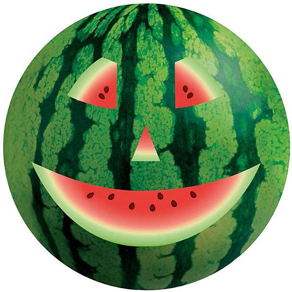 Мяч Dema-Stil Арбуз, 23 смМячи детские<br>Характеристики:<br><br>• тип игрушки: мяч;<br>• возраст: от 3 лет;<br>• материал: ПВХ;<br>• цвет:  зеленый, черный, красный, белый;<br>• вес: 140 гр;<br>• размер: 23х23х23 см;<br>• бренд: Dema Stil.<br><br>Мяч Dema-Stil «Арбуз», 23 см  имеет гладкую и упругую поверхность, выполненную из прочного материала, благодаря которой играть с ним одно удовольствие. Дизайн изделия имитирует всем известный арбуз, украшенный забавным изображением улыбающегося лица, словно вырезанного на нем. Активные игры с мячом благоприятно отразится на физическом развитии ребенка.<br><br>Мяч Dema-Stil «Арбуз», 23 см можно купить в нашем интернет-магазине.<br>Ширина мм: 230; Глубина мм: 230; Высота мм: 230; Вес г: 140; Цвет: зеленый; Возраст от месяцев: 36; Возраст до месяцев: 84; Пол: Унисекс; Возраст: Детский; SKU: 7920668;