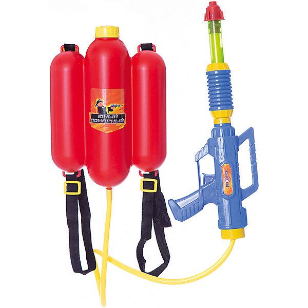 Водное оружие Mission-Target «Пожарный»Водяные пистолеты<br>Характеристики:<br><br>• тип игрушки: водное оружие;<br>• возраст: от 5 лет;<br>• материал: пластик;<br>• объем: 1,7 л;<br>• радиус действия: 8 м;<br>• цвет:  красный; <br>• вес: 310 гр;<br>• размер: 34,5х8х47,5 см;<br>• бренд: Mission Target.<br> <br>Водное оружие Mission-Target «Пожарный» позволит есело провести летний день, имитируя водные сражения или спасая чье-то имущество от воображаемого пожара. При нажатии на спусковой крючок оружия выстреливается струя воды. Такое весёлое занятие не оставит равнодушным ни одного мальчишку. Важным преимуществом игрушки является резервуар с запасом воды. Увлекаясь подвижными играми, дети крепнут и развиваются физически.<br><br>Водное оружие Mission-Target «Пожарный» можно купить в нашем интернет-магазине.<br>Ширина мм: 345; Глубина мм: 80; Высота мм: 475; Вес г: 310; Цвет: красный; Возраст от месяцев: 60; Возраст до месяцев: 168; Пол: Мужской; Возраст: Детский; SKU: 7920724;
