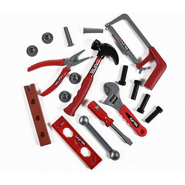 Набор инструментов Yako Toys 17 предметов, в чемоданчикеНаборы инструментов<br>Характеристики:<br><br>• тип игрушки: набор;<br>• возраст: от 3 лет;<br>• материал: пластик, металл;<br>• комплект: 17 инструментов; <br>• цвет: светлый; <br>• вес: 730 гр;<br>• размер: 70х33х25 см;<br>• бренд: Yako.<br><br>Игрушка детская Yako «Набор инструментов» включает в себя семнадцать предметов, которые заинтересуют многих мальчиков. Представленный набор позволит каждому своему обладателю побыть в роли опытного мастера, который с удовольствием устранит все поломки. Игрушки изготовлены из пластика, их внешний вид максимально точно приближен к настоящими рабочим инструментам.<br><br>Игрушку детскую Yako «Набор инструментов» можно купить в нашем интернет-магазине.<br>Ширина мм: 700; Глубина мм: 330; Высота мм: 250; Вес г: 730; Цвет: белый; Возраст от месяцев: 36; Возраст до месяцев: 6; Пол: Мужской; Возраст: Детский; SKU: 7920750;