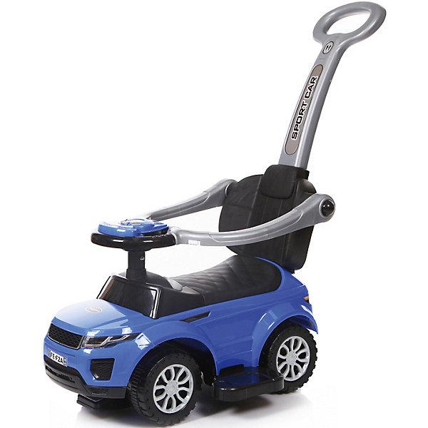 Каталка детская Baby Care Sport car синийМашинки-каталки<br>Характеристики:<br><br>• возраст: от 1,5 лет;<br>• материал: пластик EVA;<br>• цвет: синий;<br>• допустимый вес: 27 кг;<br>• размер колес: 15 см;<br>• вес: 4 кг;<br>• размер: 63х36х31 см;<br>• бренд: Baby Care Fivity.<br><br>Каталка детская Baby Care Sport car синий - суперлёгкая и очень надежная каталка. Машинка выполнена таким образом, чтобы быть максимально безопасной для малыша. У нее отсутствуют острые углы. Есть поворотный руль со звуковыми эффектами.<br><br>Каталку детскую Baby Care Sport car синяя можно купить в нашем интернет-магазине.<br>Ширина мм: 630; Глубина мм: 360; Высота мм: 310; Вес г: 4000; Цвет: синий; Возраст от месяцев: 12; Возраст до месяцев: 24; Пол: Унисекс; Возраст: Детский; SKU: 7922724;