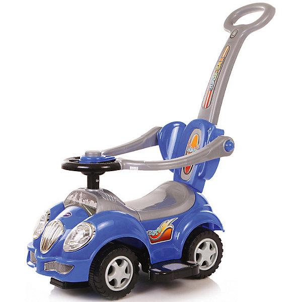 Каталка детская Baby Care Cute Car синий