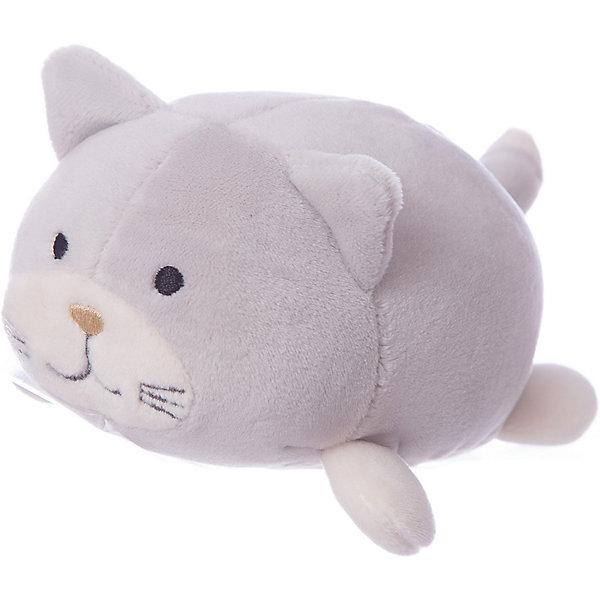 Купить Мягкая игрушка ABtoys Кошечка серая, 13 см, Китай, серый, Унисекс