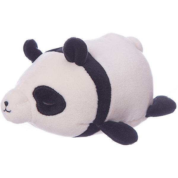 Купить Мягкая игрушка ABtoys Панда черно-белая, 13 см, Китай, черный/белый, Унисекс