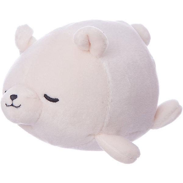 Купить Мягкая игрушка ABtoys Полярный медвежонок, 13 см, Китай, белый, Унисекс