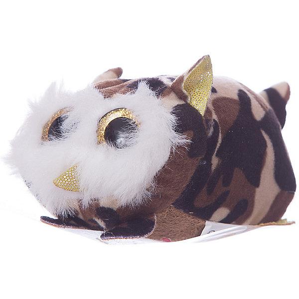 Мягкая игрушка Teddy Совенок коричневый,10 смМягкие игрушки животные<br>Характеристики:<br><br>• возраст: 3+;<br>• материал: искусственный мех, пластик;<br>• цвет: коричневый;<br>• размер игрушки: 10 см;<br>• размеры упаковки: 7х4х4 см;<br>• вес: 25 г.<br><br>Совенок коричневого цвета станет любимым игрушечным питомцем для мальчиков и девочек. Большие золотые глазки с блестками придают ему забавный вид.<br><br>Игрушка изготовлена из мягкого искусственного меха. Сова приятна на ощупь, поэтому малыш сможет не только играть с ней, но и брать с собой в кроватку. Используемые материалы гипоаллергенны и безопасны для здоровья детей.<br><br>Ухаживая за своим новым другом, мальчики и девочки научатся заботиться о животных и правильно обращаться с ними. <br><br>Мягкую игрушку «Совенок коричневый, 10 см», Teddy можно приобрести в нашем интернет-магазине.<br>Ширина мм: 40; Глубина мм: 40; Высота мм: 70; Вес г: 24; Цвет: коричневый; Возраст от месяцев: 36; Возраст до месяцев: 120; Пол: Унисекс; Возраст: Детский; SKU: 7922748;
