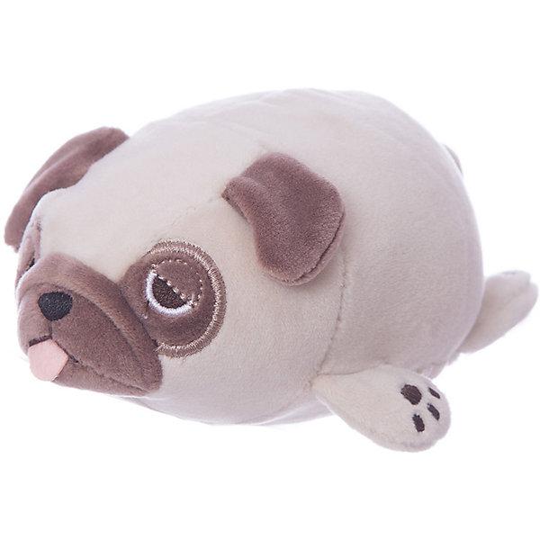 Купить Мягкая игрушка ABtoys Бульдог светло-, 13 см, Мягкая игрушка ABtoys Бульдог светло-коричневый, Китай, Унисекс