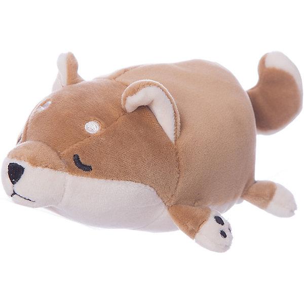 Купить Мягкая игрушка ABtoys Собачка коричневая, 13 см, Китай, коричневый, Унисекс
