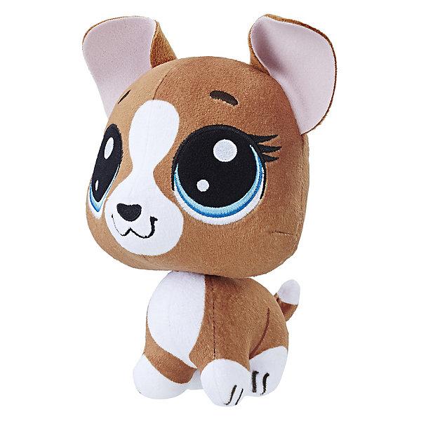 Мягкая игрушка Little Pet Shop, СобачкаLittlest Pet Shop<br>Характеристики:<br><br>• возраст: от 4 лет;<br>• материал: текстиль;<br>• вес упаковки: 97 гр.;<br>• размер упаковки: 10,2х12,7х15,2 см;<br>• страна бренда: США.<br><br>Мягкая игрушка из серии Hasbro Littlest Pet Shop очень приятна на ощупь, имеет мультяшный дизайн с большой головой и глазами. Голова игрушки забавно двигается, что создает много веселых ситуаций во время игр.<br><br>Игрушка пошита из качественных прочных материалов, ее можно стирать при низких температурах в стиральной машине, используя мешок для стирки.<br><br>Игрушку мягконабивную четвероногий Пет, Littlest Pet Shop, Hasbro можно купить в нашем интернет-магазине.<br>Ширина мм: 102; Глубина мм: 127; Высота мм: 152; Вес г: 97; Возраст от месяцев: 48; Возраст до месяцев: 2147483647; Пол: Женский; Возраст: Детский; SKU: 7922790;