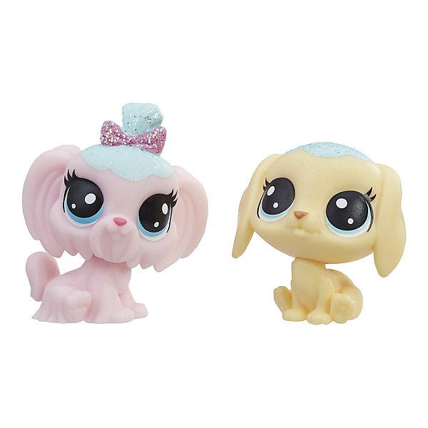 Купить Набор фигурок Little Pet Shop Зефирные петы Собачки, Hasbro, Китай, Женский