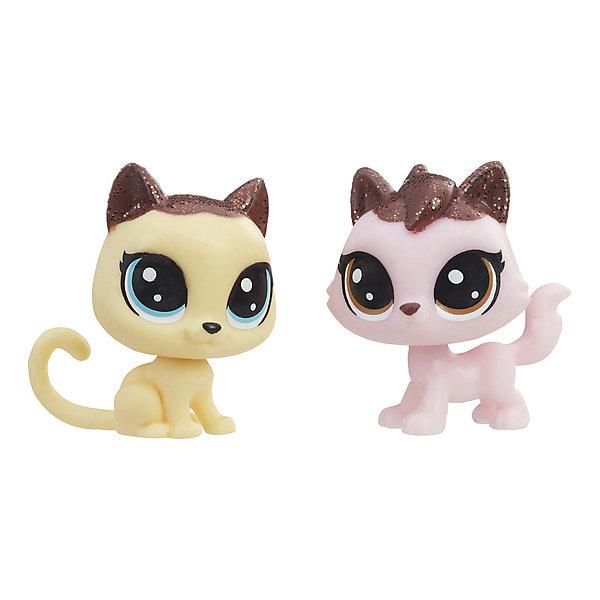 Купить Набор фигурок Little Pet Shop Зефирные петы Котята, Hasbro, Китай, Женский