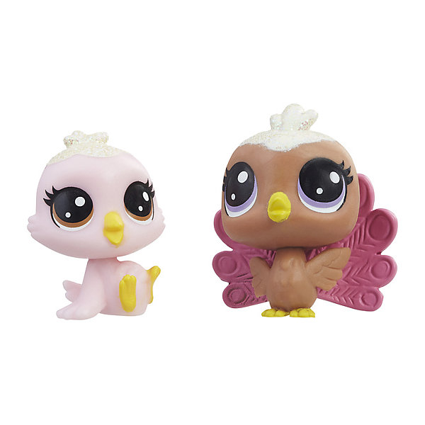 Купить Набор фигурок Little Pet Shop Зефирные петы Птички, Hasbro, Китай, Женский