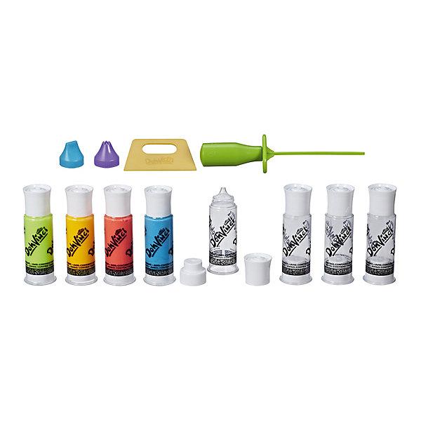 Набор для творчества DohVinci Смешай цветаНаборы для лепки игровые<br>Характеристики:<br><br>• возраст: от 6 лет;<br>• материал: пластмасса, пластилин;<br>• в наборе: инструмент для смешивания цветов, насадки, 4 пустых картриджа, 4 картриджа с пластилином; <br>• вес упаковки: 183 гр.;<br>• размер упаковки: 3,3х20,3х25,4 см;<br>• страна бренда: США.<br><br>С набором для творчества «Смешай цвета» из серии DohVinci Hasbro легко создавать свои собственные оттенки пластилина, которыми потом можно декорировать предметы и рисовать.<br><br>Состав не липнет к рукам, не имеет запаха и быстро высыхает. Насадки позволят экспериментировать с формами. Сделано из безопасных материалов.<br><br>Набор для творчества DohVinci «Смешай цвета» можно купить в нашем интернет-магазине.<br>Ширина мм: 33; Глубина мм: 203; Высота мм: 254; Вес г: 183; Возраст от месяцев: 72; Возраст до месяцев: 2147483647; Пол: Женский; Возраст: Детский; SKU: 7922855;