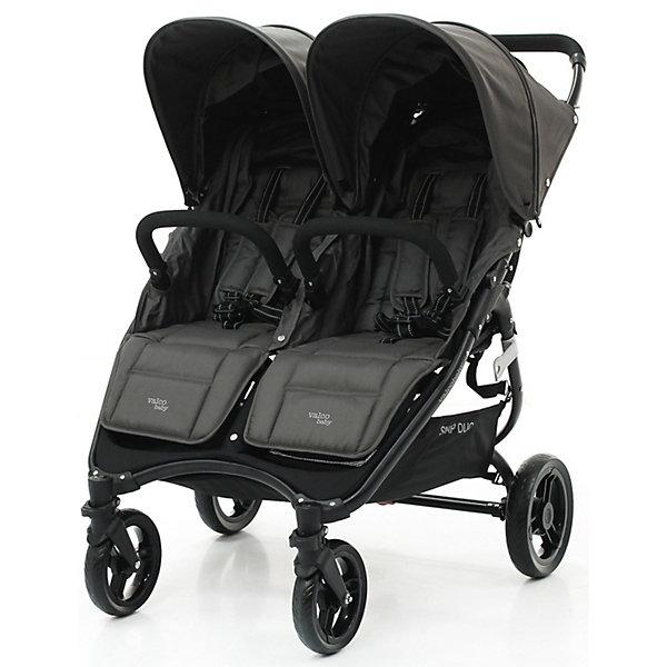 Прогулочная коляска для двойни Valco baby Snap Duo / Dove Grey baby Snap Duo, темно-серая, Китай, темно-серый, Унисекс  - купить со скидкой