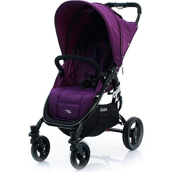 Прогулочная коляска Valco baby Snap 4 / Deep purpleПрогулочные коляски<br>Коляска Valco Baby Snap 4 — это ультралегкая и суперкомпактная коляска, которая складывается одной рукой простым нажатием на кнопку, расположенную на ручке.<br>Snap 4 подходит для новорожденных благодаря регулируемой до лежачего положения спинке с жестким каркасом.<br>Внутренняя часть сиденья коляски Valco Baby Snap 4 не контактирует с внешней стороной в сложенном состоянии, а это означает, что коляска останется чистой дольше.<br>Автоматическая фиксация коляски в сложенном виде, удобная ручка и плечевой ремень для переноски.<br>Капор коляски Snap 4 имеет дополнительный сектор, расширующийся при помощи молнии.<br>Мягкие резиновые бескамерные колеса, устойчивые к проколам.<br>Легкосьемные колеса для удобства чистки, транспортировки или хранения.<br>Очень широкое и вместительное сиденье, комфортное для малыша, с пятиточечными ремнями безопасности.<br>Регулируемая до лежачего положения спинка (ременной механизм).<br>Сьемный бампер отстегивается с одной стороны для легкого доступа ребенка в коляску или снимается совсем.<br>Смотровое окошко Peek-a-Boo«для наблюдения за спящим малышом.<br>Расширяющийся на молнии капюшон «Expanda» защитит ребенка от солнца или ветра.<br>Надежный ножной тормоз (снять с тормоза можно подошвой, не пачкая обувь). <br>Диаметр колес 16 и 26 см<br>Самостоятельно стоит в сложенном виде. <br>Возможность установки автокресла при помощи Адаптера Maxi Cosi / Snap &amp; Snap 4.<br>Размеры в разложенном виде: 97?52,5?104 см.<br>Размеры в сложенном виде: 78?52,5?31 см.<br>Размеры сидения: 34?48?22 см.<br>Максимальная нагрузка: 20 кг.<br>Ширина мм: 464; Глубина мм: 184; Высота мм: 775; Вес г: 8890; Цвет: фиолетовый; Возраст от месяцев: 0; Возраст до месяцев: 3; Пол: Унисекс; Возраст: Детский; SKU: 7922891;