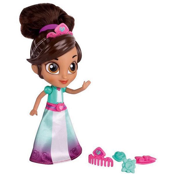 Мини-кукла Gulliver Нелла - отважная принцесса Создай модный образ, Принцесса Нелла с аксессуарами, 12 смКуклы<br>Характеристики товара:<br><br>• возраст: от 5 лет;<br>• комплект: кукла, аксессуары;<br>• высота куклы: 12 см.;<br>• материал: пластик;<br>• упаковка: блистер на картоне;<br>• размер упаковки: 23 x 14,5 x 6,5 см..;<br>• вес: 200 гр.;<br>• наименование бренда: Gulliver (Гуливер);<br><br>Набор с фигуркой принцессы Неллы и дополнительными аксессуарами понравится любой девочке, которая любит мультсериал «Нелла – отважная принцесса». Он разнообразит игры и станет украшением детской комнаты.<br><br>Набор из серии «Создай новый образ» включает в себя небольшую фигурку главной героини Неллы в образе принцессы, которую легко узнать по черным волосам в пышной прическе, небольшой розовой тиаре и милому голубому платью с красивым поясом. В комплекте есть аксессуары, которые по размеру полностью подходят кукле. <br><br>Игрушка разнообразит игры по мотивам мультсериала, стимулирует фантазию и удерживает внимание длительное время. Создавать прически можно самостоятельно, с друзьями или со своими родителями. Прочные аксессуары хорошо и надежно крепятся к волосам куклы, не спадают и не деформируются.  <br><br>Куклу «Принцесса Нелла с аксессуарами», 12 см., Gulliver (Гуливер) можно купить в нашем интернет-магазине.<br>Ширина мм: 880; Глубина мм: 62; Высота мм: 155; Вес г: 188; Возраст от месяцев: 36; Возраст до месяцев: 60; Пол: Женский; Возраст: Детский; SKU: 7923220;