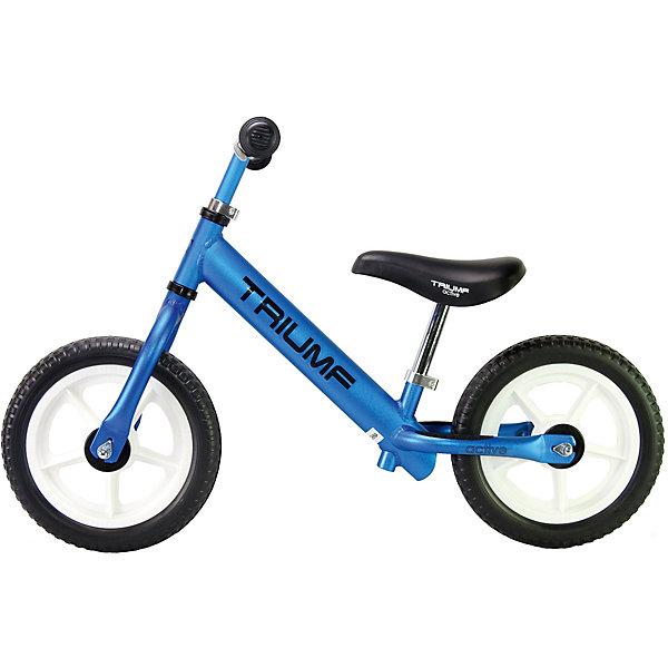 Беговел Triumf active AL-1201,синийБеговелы<br>Характеристики товара: <br><br>• возраст: от 2 лет;<br>• максимальная нагрузка: 40 кг;<br>• материал рамы: алюминий;<br>• диаметр колес: 12;<br>• материал колес: EVA;<br>• высота руля: 45-60 см;<br>• высота сидения: 30-43 см;<br>• размер беговела: 87х44х59 см;<br>• вес беговела: 2 кг;<br>• размер упаковки: 71х32х16 см;<br>• вес упаковки: 2,8 кг.<br><br>Беговел Triumf Active AL-1201 синий позволит активно провести время на прогулке, способствует физическому развитию, тренировке мышц и научит малышей держать равновесие. Рама беговела выполнена из качественного облегченного алюминия. Сидение и руль можно отрегулировать по мере роста малыша. <br><br>Беговел Triumf Active AL-1201 синий можно приобрести в нашем интернет-магазине.<br>Ширина мм: 710; Глубина мм: 160; Высота мм: 320; Вес г: 2800; Цвет: синий; Возраст от месяцев: 24; Возраст до месяцев: 60; Пол: Унисекс; Возраст: Детский; SKU: 7925371;