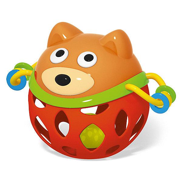 Погремушка-прорезыватель Stellar ПузатикИгрушки для новорожденных<br>Характеристики:<br><br>• возраст: 0+;<br>• материал: полистирол, ТЭП;<br>• размеры: 15х10х17 см;<br>• вес: 80 г.<br><br>Погремушка-прорезыватель «Пузатик» - веселая игрушка для малышей. Также она пригодится в период прорезывания зубов. Приятная рельефная поверхность прорезывателя нежно массирует десны, устраняя зуд и неприятные ощущения.<br><br>Форма, размеры и вес игрушки идеальны для захвата маленькими ручками. Ребенку будет удобно держать погремушку, крутить, переносить с места на место, как это любят делать маленькие непоседы. <br><br>Погремушка состоит из мягкого шара-прорезывателя и твердой мордочки зверушки. Лапки «Пузатика» выполнены в виде удобных ручек-петелек, за которые можно держать погремушку. На них находятся разноцветные бусинки, которые можно двигать. Гибкий шар игрушки имеет фигурные отверстия. Внутри мягкой части погремушки находится цветной шарик, которой перекатывается и приятно гремит, если взять или потрясти погремушку.<br><br>Погремушка-прорезыватель изготовлена из абсолютно безопасных материалов, легко моется и дезинфицируется.<br><br>Погремушку - прорезыватель «Пузатик», Stellar можно приобрести в нашем интернет-магазине.<br>Ширина мм: 150; Глубина мм: 100; Высота мм: 170; Вес г: 80; Возраст от месяцев: 36; Возраст до месяцев: 2147483647; Пол: Унисекс; Возраст: Детский; SKU: 7925587;