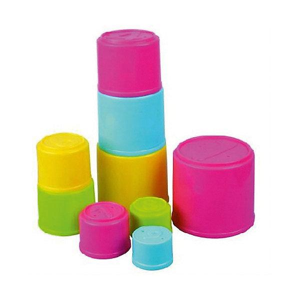 Пирамидка Red Box, 9 деталейРазвивающие игрушки<br>Характеристики товара:<br><br>• возраст: от 6 месяцев;<br>• материал: пластик;<br>• в комплекте: 9 формочек;<br>• размер упаковки: 20х20х25 см;<br>• вес упаковки: 470 гр.<br><br>Пирамидка Red Fox — развивающая игрушка для малышей, состоящая из пластиковых формочек разной формы и разного цвета. Из формочек можно выстроить башню, сложить их все в одну или играть с ними в песочнице. Игрушка способствует развитию мелкой моторики рук, цветового восприятия, логического мышления, научит ребенка распознавать фигуры.<br><br>Пирамидку Red Fox можно приобрести в нашем интернет-магазине.<br>Ширина мм: 200; Глубина мм: 200; Высота мм: 250; Вес г: 470; Возраст от месяцев: 72; Возраст до месяцев: 168; Пол: Унисекс; Возраст: Детский; SKU: 7925605;