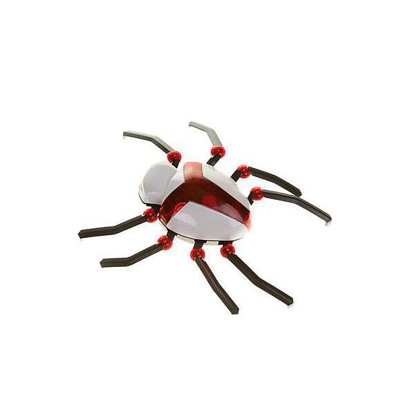 Динамический конструктор Galey Toys ПаукИнтерактивные животные<br>Характеристики товара:<br><br>• возраст: от 6 лет;<br>• в комплекте: детали для сборки паука, электронный блок, инструкция;<br>• тип батареек: 2 батарейки ААА;<br>• наличие батареек: в комплект не входят;<br>• размер паука: 23х21х9 см;<br>• размер упаковки: 42х29х15 см;<br>• вес упаковки: 460 гр.<br><br>Конструктор «Паук» Galey Toys позволит собрать из деталей настоящего паука-робота. Паук умеет реагировать на действия ребенка. Стоит просто хлопнуть ладонями, как он поползет, передвигая лапками. При этом у него загораются глаза, и он жужжит. <br><br>Конструктор «Паук» Galey Toys можно приобрести в нашем интернет-магазине.<br>Ширина мм: 290; Глубина мм: 150; Высота мм: 420; Вес г: 460; Возраст от месяцев: 72; Возраст до месяцев: 168; Пол: Унисекс; Возраст: Детский; SKU: 7925615;