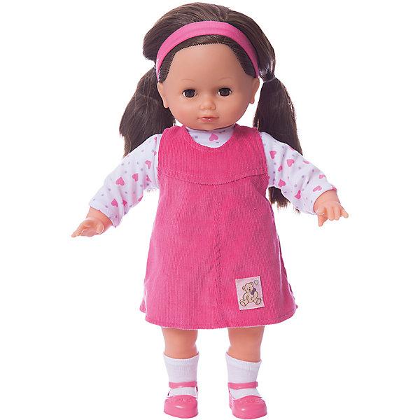 Кукла Lotus Onda Лаура, 40 смКуклы<br>Характеристики товара:<br><br>• возраст: от 3 лет;<br>• материал: пластик, текстиль;<br>• высота куклы: 40 см;<br>• размер упаковки: 42х29х15 см;<br>• вес упаковки: 770 гр.<br><br>Кукла Лаура Lotus Onda — очаровательная девочка с большими глазками, длинными ресницами и темными волосами. На Лауре розовый сарафан. Волосы куколки можно расчесывать, украшать и заплетать. У куклы мягконабивное тело, а ручки, голова и ножки выполнены из пластика. У нее подвижные руки и ножки, глаза закрываются. <br><br>Куклу Лаура Lotus Onda можно приобрести в нашем интернет-магазине.<br>Ширина мм: 290; Глубина мм: 150; Высота мм: 420; Вес г: 770; Возраст от месяцев: 36; Возраст до месяцев: 168; Пол: Унисекс; Возраст: Детский; SKU: 7925617;