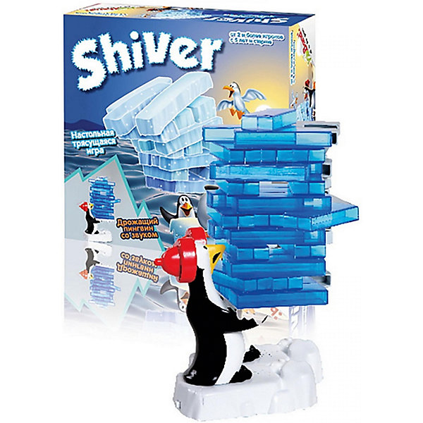 Настольная игра Trends International Дрожащий пингвинНастольные игры для всей семьи<br>Характеристики товара:<br><br>• возраст: от 5 лет;<br>• материал: пластик;<br>• в комплекте: пингвин, льдинки;<br>• количество игроков: 2;<br>• время игры: 15-20 минут;<br>• размер упаковки: 27х22х12 см;<br>• вес упаковки: 510 гр.<br><br>Настольная игра «Дрожащий пингвин» Trends — увлекательная игра, которая тренирует внимательность и аккуратность. Для начала пингвину в руки дается поднос, затем на него укладываются льдинки. После включения у пингвина начинает дрожать поднос. А задача игроков — вытаскивать льдинки так, чтобы они не упали все вместе. Двигающийся поднос усложняет эту задачу. Тот, у кого все льдинки упадут, проиграл.<br><br>Настольную игру «Дрожащий пингвин» Trends можно приобрести в нашем интернет-магазине.<br>Ширина мм: 220; Глубина мм: 120; Высота мм: 270; Вес г: 510; Возраст от месяцев: 48; Возраст до месяцев: 168; Пол: Унисекс; Возраст: Детский; SKU: 7925643;
