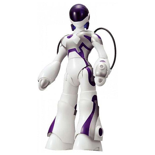 Робот WowWee FemisapienРоботы<br>Характеристики товара:<br><br>• возраст: от 8 лет;<br>• материал: пластик;<br>• в комплекте: робот, инструкция;<br>• тип батареек: 6 батареек АА;<br>• наличие батареек: в комплект не входят;<br>• размер упаковки: 44х30х14 см;<br>• вес упаковки: 1,23 кг.<br><br>Робот Femisapien Wow Wee — девушка-робот, для управления которой не нужен пульт управления. Она реагирует на движения, прикосновения и звук, умеет говорить и танцевать, выполнять команды, брать предметы из рук и даже посылать воздушные поцелуи.<br><br>Работает Femisapien в 3 режимах. Во внимательном режиме она взаимодействует напрямую, может станцевать, представиться. В обучающем научит последовательности действий, на которые она запрограммирована. Интерактивный режим — основной режим, в нем она отвечает на звуки и выполняет различные действия. Всего робот запрограммирован на 36 функций и 20 интерактивных сценариев.<br><br>Femisapien совместима и с другими роботами Wow Wee, может общаться с ними и даже ими управлять.<br><br>Робота Femisapien Wow Wee можно приобрести в нашем интернет-магазине.<br>Ширина мм: 300; Глубина мм: 140; Высота мм: 440; Вес г: 1230; Возраст от месяцев: 96; Возраст до месяцев: 168; Пол: Унисекс; Возраст: Детский; SKU: 7925647;