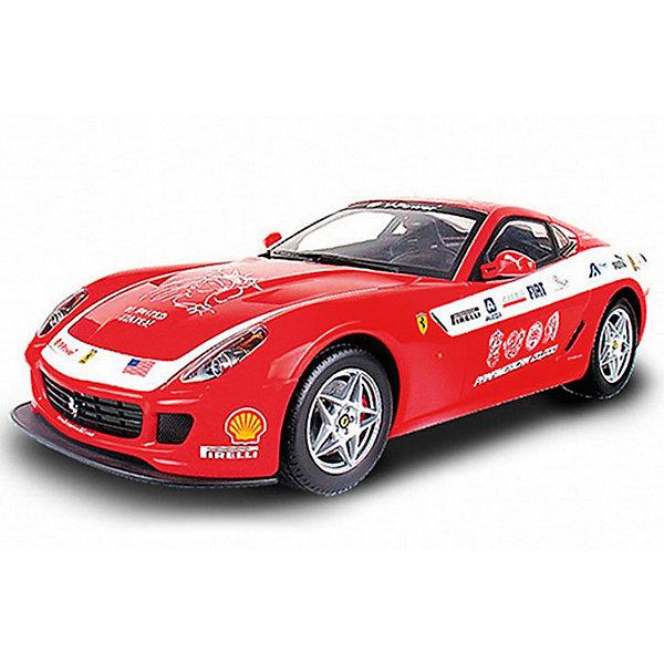 Радиуправляемая машинка MJX Ferrari 599 GTB Fiorano Panamerican, 1:20Радиоуправляемые машины<br>Характеристики товара:<br><br>• возраст: от 3 лет;<br>• материал: пластик;<br>• в комплекте: машина, пульт, аккумулятор, зарядное устройство, инструкция;<br>• тип батарейки: 1 батарейка «Крона» (для пульта);<br>• наличие батареек: в комплекте;<br>• масштаб: 1:20;<br>• дальность действия пульта: 15 метров;<br>• время игры: 20 минут;<br>• время зарядки: 60 минут;<br>• размер упаковки: 30х17х15 см;<br>• вес упаковки: 630 гр.<br><br>Радиоуправляемая машина Ferrari 599 GTB Fiorano Panamerican MJX — настоящая копия автомобиля Ferrari на радиоуправлении. Машина может ездить во всех направлениях. При движении вперед у нее 4 скорости, при движении назад — 3 скорости. Во время езды загораются фары, а при торможении стоп-сигналы. Резиновые колеса не шумят и не повреждают пол. Машинку можно использовать как дома, так и на улице. <br><br>Радиоуправляемую машину Ferrari 599 GTB Fiorano Panamerican MJX можно приобрести в нашем интернет-магазине.<br>Ширина мм: 300; Глубина мм: 170; Высота мм: 150; Вес г: 630; Возраст от месяцев: 36; Возраст до месяцев: 168; Пол: Унисекс; Возраст: Детский; SKU: 7925659;